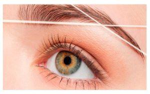 Procedimientos para la depilación de cejas con hilos