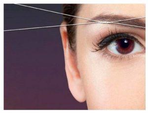 Ventajas de la depilación de las cejas con hilos